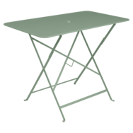 table de jardin en métal