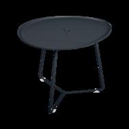 table basse metal, table basse fermob, table basse de jardin, table basse noir