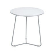 tabouret bas metal, table de chevet, table d appoint, petite table basse blanche