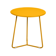tabouret bas metal, table de chevet, table d appoint, petite table basse jaune