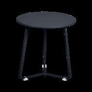 tabouret bas metal, table de chevet, table d appoint, petite table basse noir