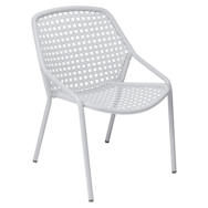 fauteuil de jardin, fauteuil fermob, fauteuil blanc