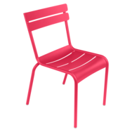chaise de jardin, chaise metal, chaise fermob, chaise terrasse, chaise rose