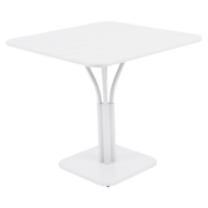 table de jardin, table metal, petite table, table blanche