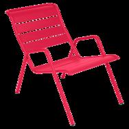 fauteuil de jardin, fauteuil metal, fauteuil blanc, fauteuil rose