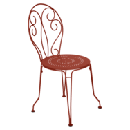 Chaise montmartre ocre rouge