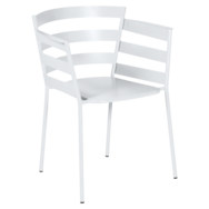 chaise metal design, chaise design, fauteuil de jardin, chaise metal, chaise fermob, fauteuil blanc