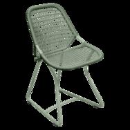 chaise de jardin design, chaise fermob, chaise verte, chaise sixties