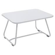 table basse metal, table basse de jardin, table basse terrasse, table basse blanche