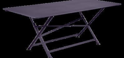 table de jardin, table metal, table de jardin pliante, table metal pliante, table fermob violet