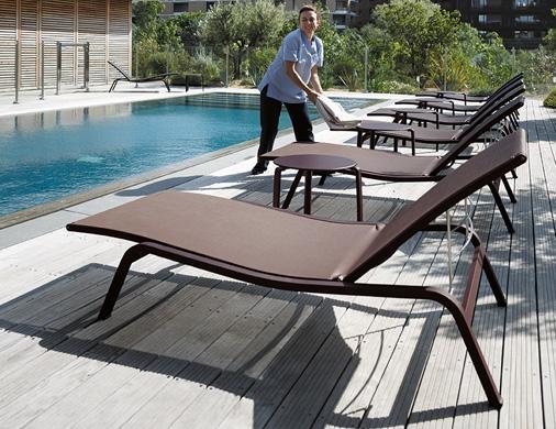 Bains de soleil pour professionnel Fermob
