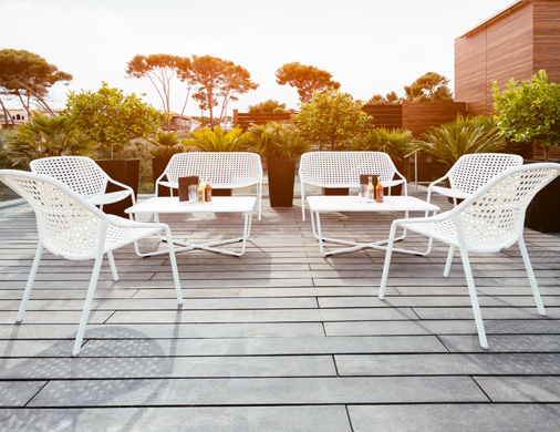 mobilier terrasse hotel