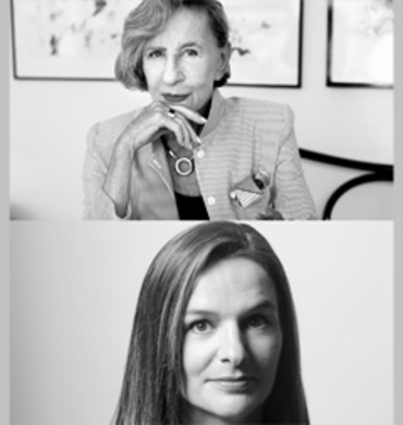 Andrée Putman, designer de la gamme de mobilier contemporain Inside Out pour Fermob