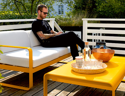 Les fauteuils et canapés Fermob - Salon de jardin