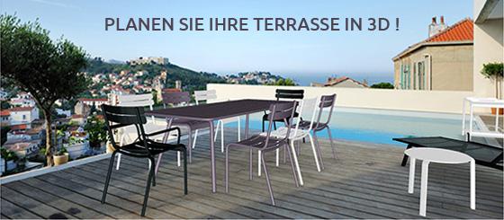Planen Sie Ihre Terrasse in 3D !