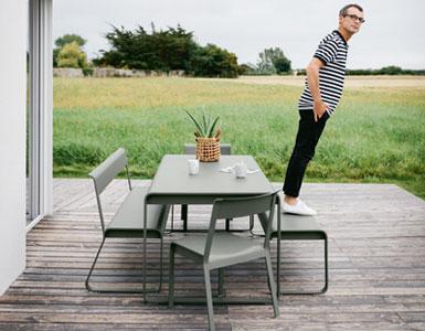 Fermob : Mobilier de jardin design français métal en couleurs