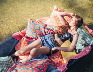 coussin, coussin fermob, coussin outdoor