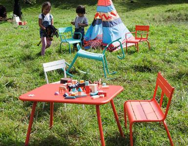 mobilier de jardin pour enfant