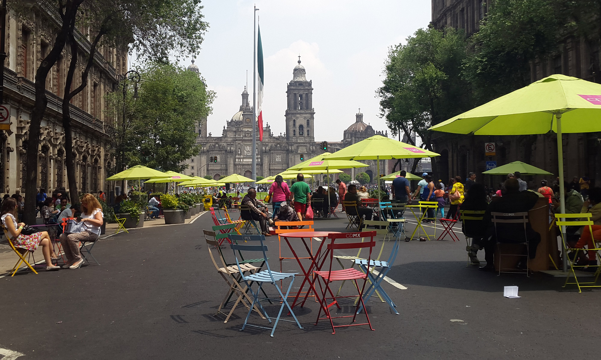 Place de la Constitution - Mexico - MEXIQUE