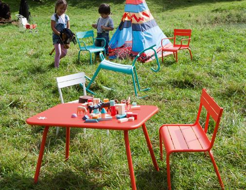 Meubles de jardin pour enfants