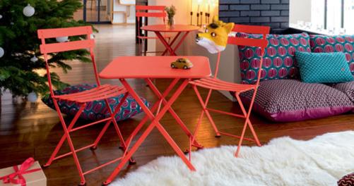 table basse metal, table enfant metal, petite table basse, table basse fermob, table enfant