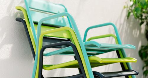 bridge monceau fauteuil de jardin en m tal. Black Bedroom Furniture Sets. Home Design Ideas