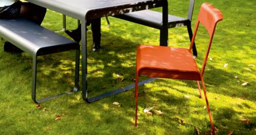 Chaise en métal Bellevie
