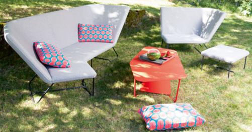 pouf de jardin, pouf d exterieur, fauteuil de jardin