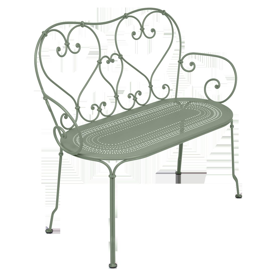 banquette metal 1900