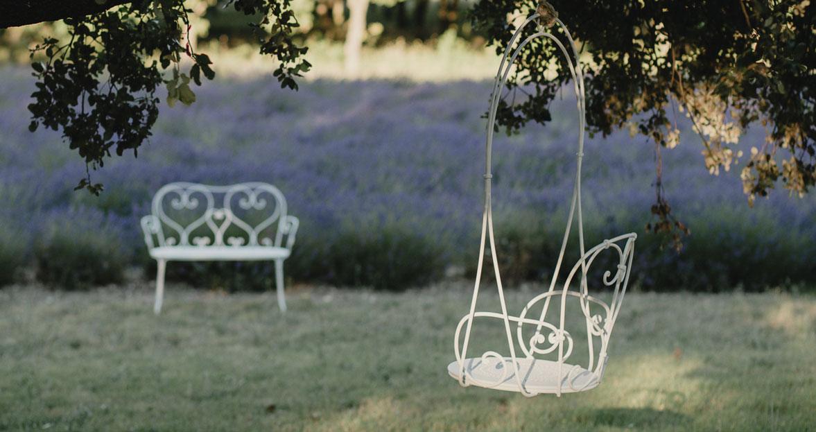 balancelle, fauteuil suspendu, balancelle metal