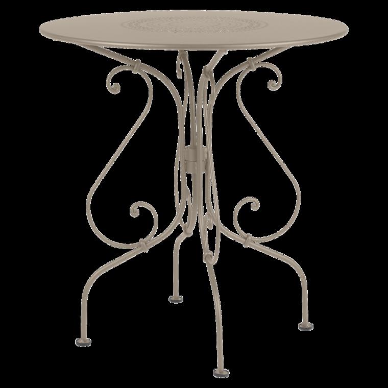 Beistelltisch 1900 Kleiner Gartentisch Aus Metall