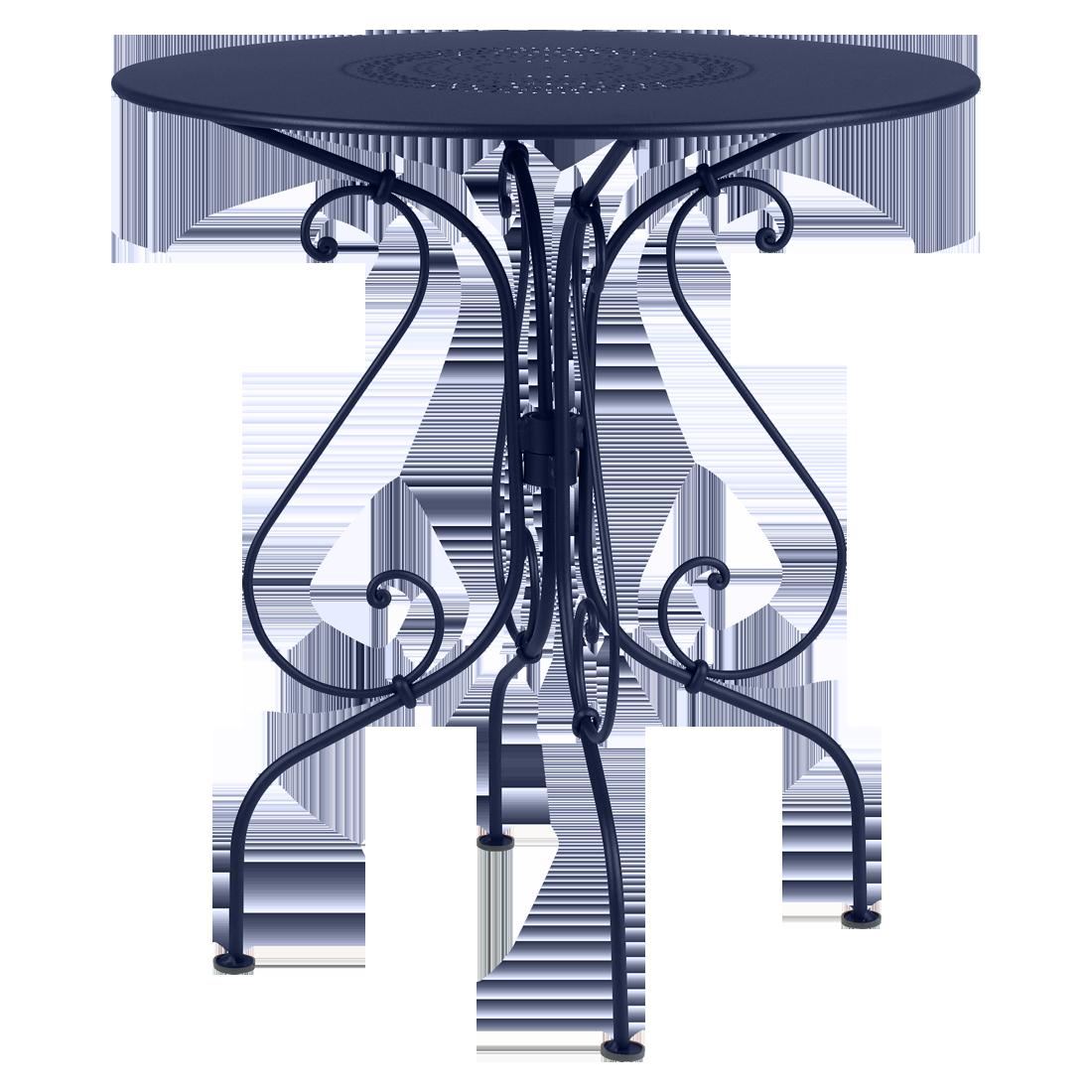 gueridon metal, petite table de jardin, petite table metal, petite table ronde