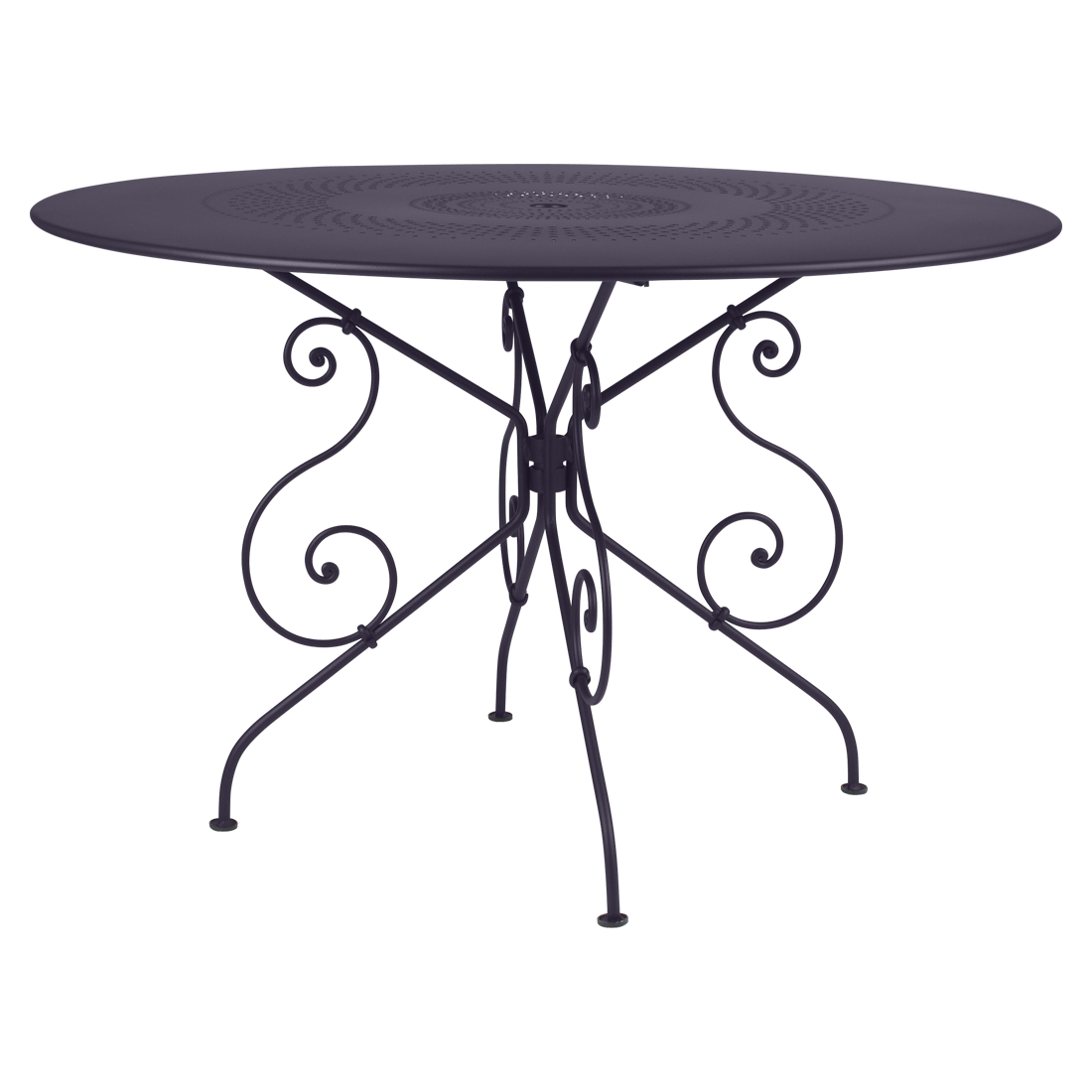 Table 1900 Ø 117 cm, table de jardin, table jardin 6 personnes