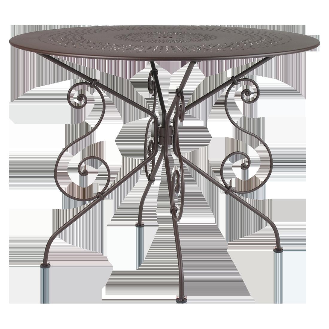 Collection 1900 - Fermob - mobilier de jardin à volutes en acier