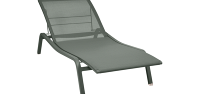 Bain De Soleil Fermob Chaise Longue En Toile