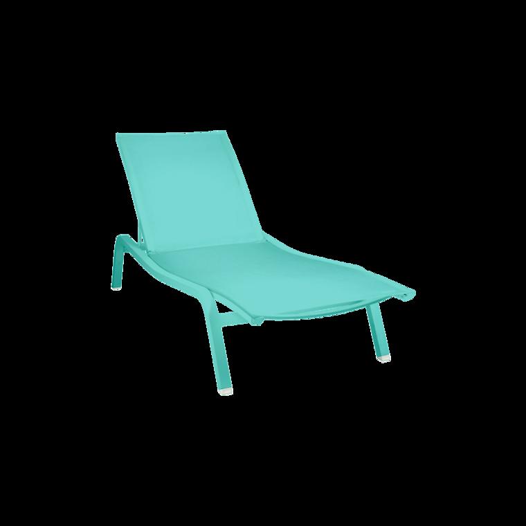 Bain de soleil aliz xs chaise longue de jardin for Bain de soleil marina bleu