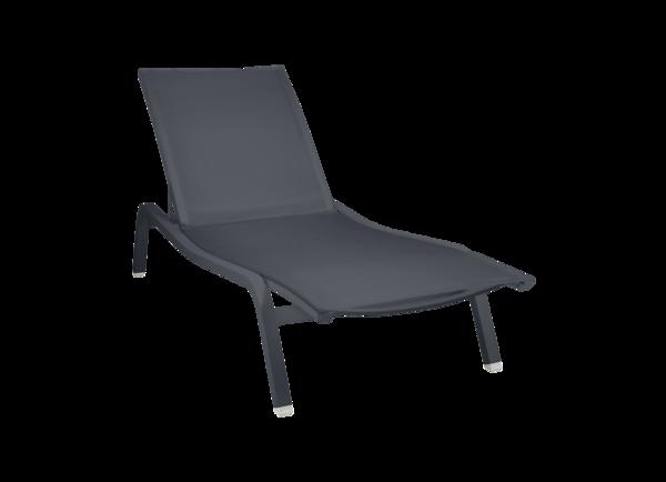 bain de soleil en toile, chaise longue, fermob