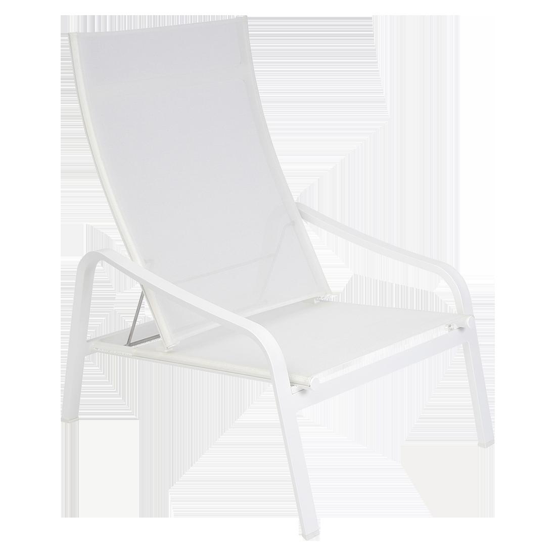 fauteuil de jardin, fauteuil fermob, fauteuil piscine, fauteuil en toile, fauteuil de jardin blanc