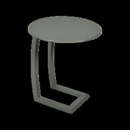 table basse chaise longue vert, table basse aluminium, table basse bain de soleil