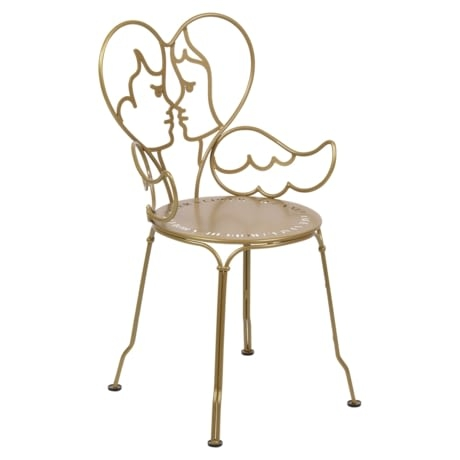 Chaise Ange gold fever