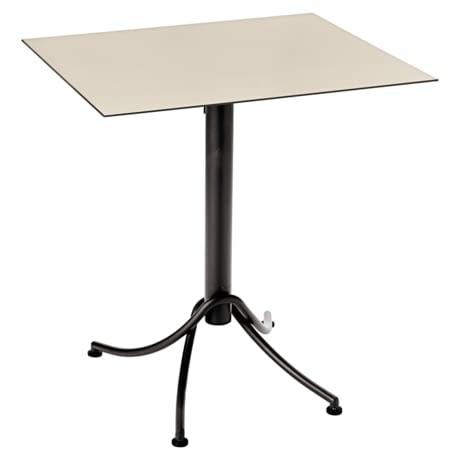 mobilier restaurant, table terrasse metal fermob