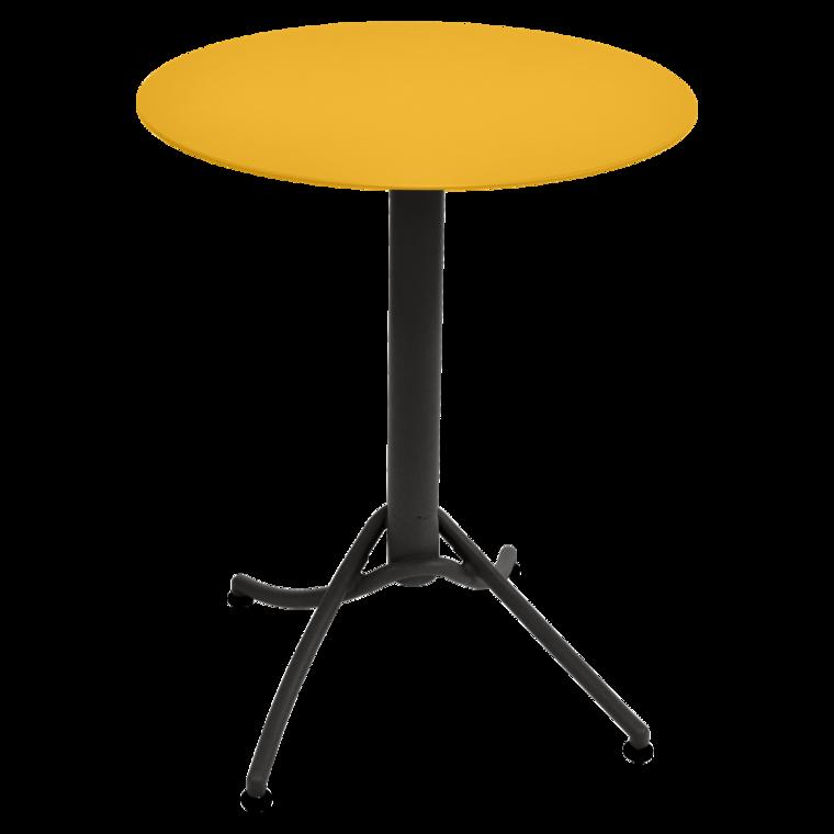 Table Ronde 60 Cm Bicolore Ariane Mobilier Restaurant Fermob