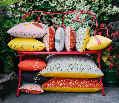 coussin fermob, coussin outdoor, coussin design