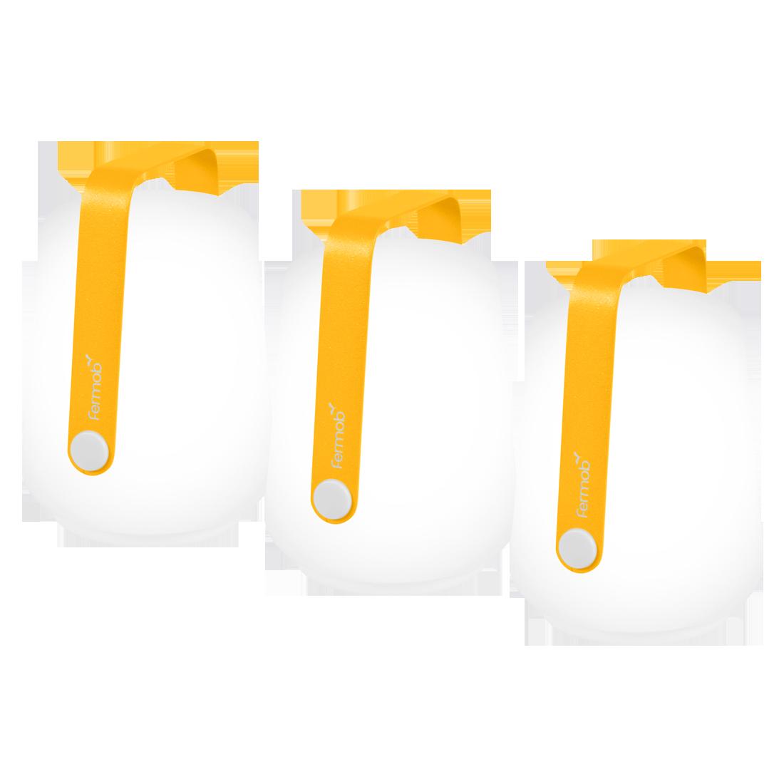 lampe fermob, lampe balad, lampe balade, lampe baladeuse, lampe nomade, lampe sans fil, veilleuse, lampe de jardin, lampe fermob jaune