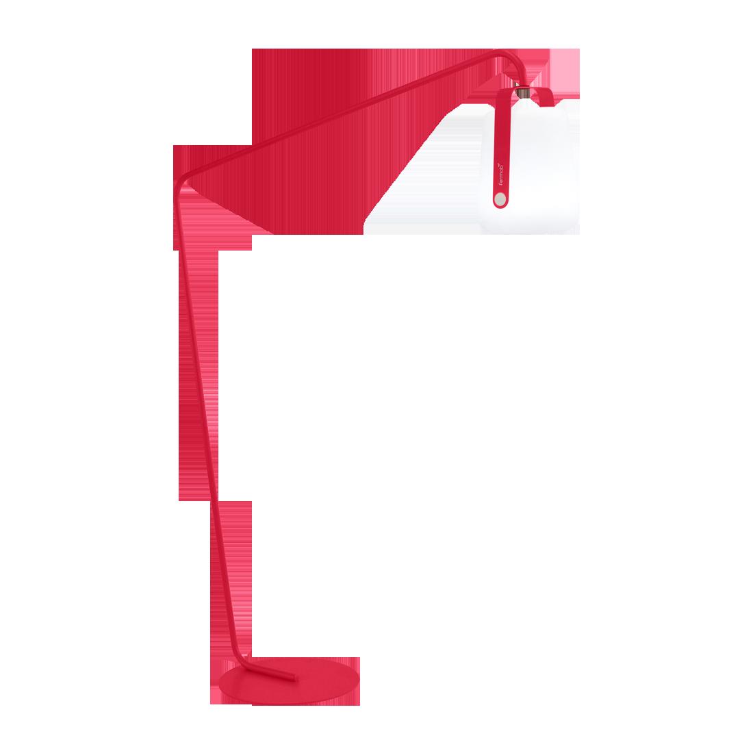 pied lampe balad, pied lampe fermob, grand pied lampe fermob, pied déporté lampe balad, pied lampe balad rose