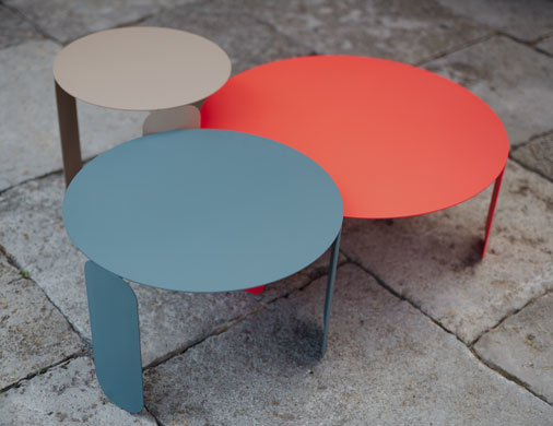 table basse fermob, table basse metal, table basse design