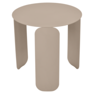 table basse design, table basse metal, table basse fermob, table basse beige