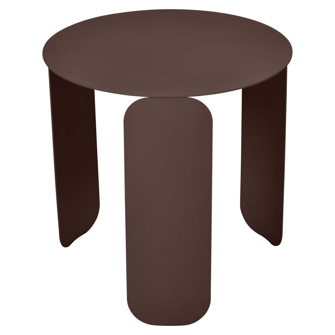 Bebop Low Table O 45 Cm Fermob Steel Low Table