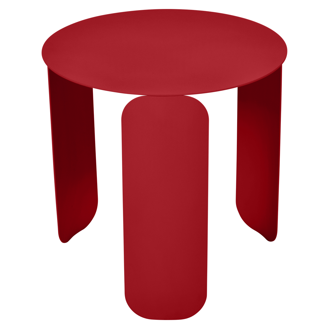 table basse design, table basse metal, table basse fermob, table basse rouge