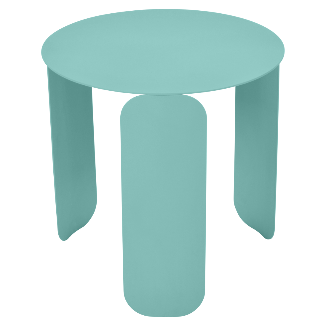 table basse design, table basse metal, table basse fermob, table basse bleu